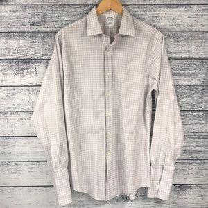 Brooks Brothers Slim Fit Cuff Link Dress Shirt